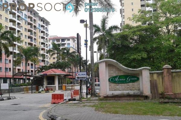 For Sale Condominium at Arena Green, Bukit Jalil Freehold Semi Furnished 3R/2B 338k