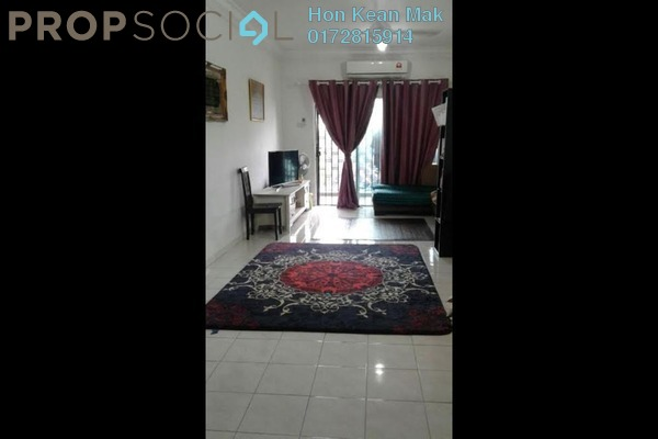 For Rent Apartment at Indahria Apartment, Shah Alam Freehold Fully Furnished 3R/2B 1.3k