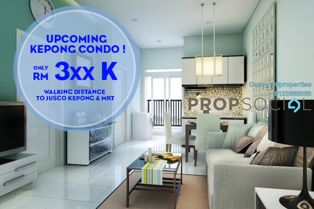 Condominium For Sale at Taman Kepong, Kepong by Casey126properties