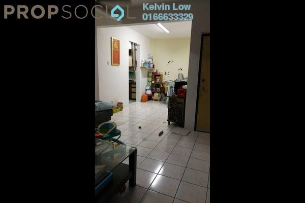 For Sale Apartment at Sri Cempaka Apartment, Bandar Puchong Jaya Freehold Semi Furnished 3R/2B 300k