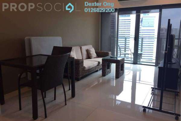 For Rent Condominium at Summer Suites, KLCC Freehold Fully Furnished 0R/1B 2.6k