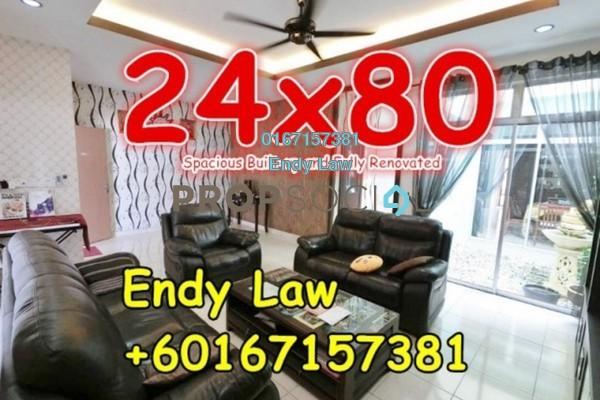 For Sale Terrace at Nusa Idaman, Iskandar Puteri (Nusajaya) Freehold Semi Furnished 4R/4B 760k