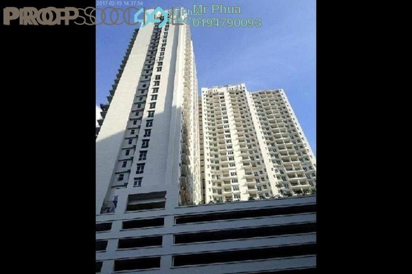 For Sale Apartment at Boulevard Condominium, Air Itam Freehold Semi Furnished 3R/2B 600k