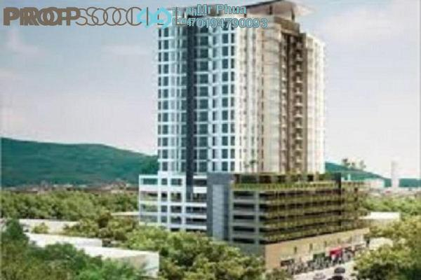 For Sale Condominium at Aspen Residence, Jelutong Freehold Unfurnished 3R/2B 750k