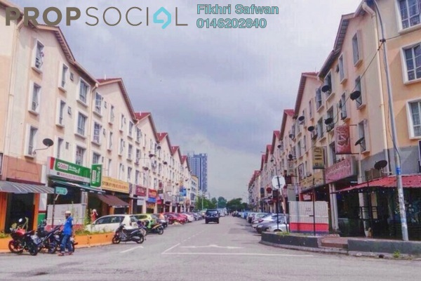 For Rent Apartment at Section 7, Shah Alam Freehold Fully Furnished 3R/2B 1.3k