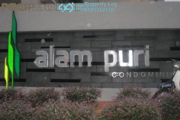 For Rent Condominium at Alam Puri, Jalan Ipoh Freehold Semi Furnished 3R/2B 1.5k
