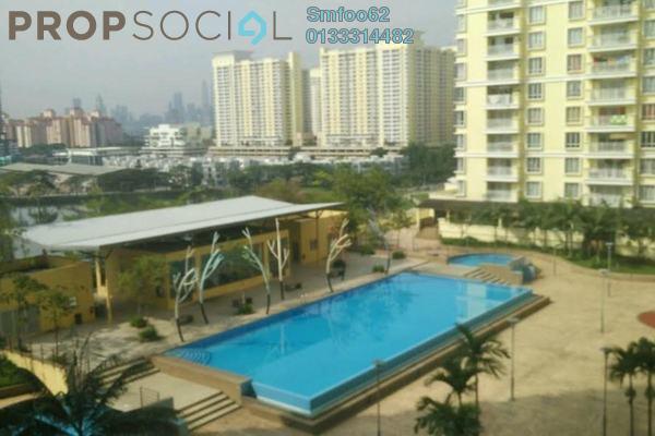 For Rent Condominium at Platinum Lake PV10, Setapak Freehold Semi Furnished 4R/2B 1.8k