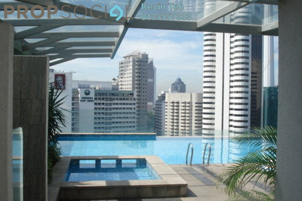 For Rent SoHo/Studio at Fraser Place, KLCC Freehold Fully Furnished 0R/1B 2.41k