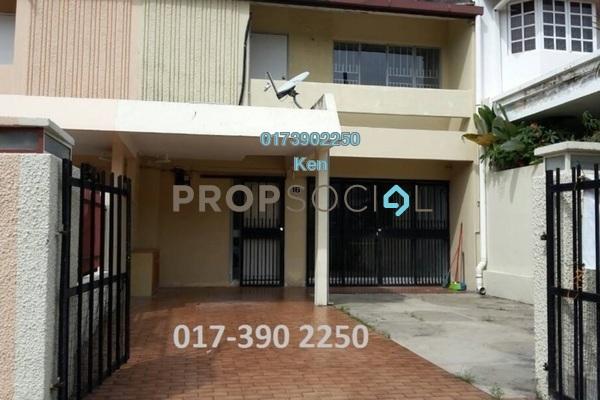 For Rent Terrace at SS22, Damansara Jaya Freehold Semi Furnished 4R/3B 2k