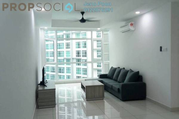 For Rent Condominium at Central Residence, Sungai Besi Freehold Fully Furnished 3R/2B 2.3k
