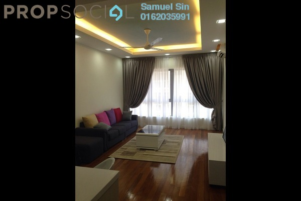 For Rent Condominium at 6 Ceylon, Bukit Ceylon Freehold Fully Furnished 1R/1B 2.7k
