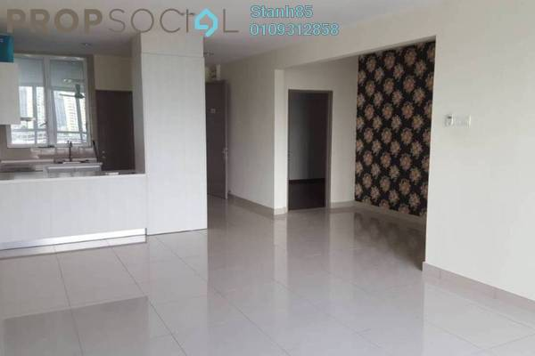 For Rent Condominium at The Loft @ ZetaPark, Setapak Freehold Semi Furnished 3R/3B 2.3k