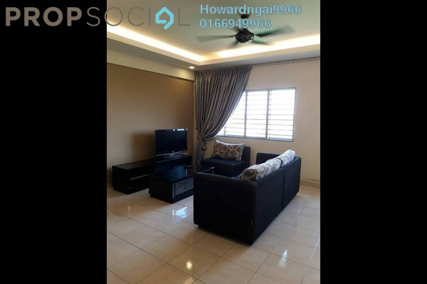 For Rent Condominium at Lagoon Residences, Kota Kemuning Freehold Fully Furnished 2R/2B 1.7k