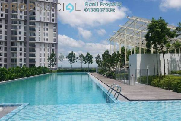 For Rent Condominium at Verdi Eco-dominiums, Cyberjaya Freehold Fully Furnished 2R/2B 3k