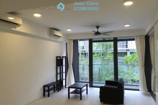 For Rent Condominium at The Capers, Sentul Freehold Semi Furnished 2R/2B 2.2k