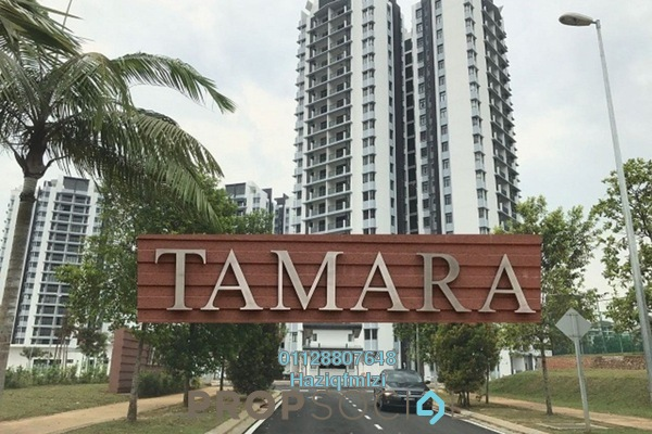 For Rent Condominium at Tamara, Putrajaya Freehold Semi Furnished 3R/2B 1.8k