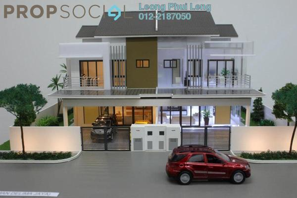 For Sale Semi-Detached at Taman Dengkil Jaya, Dengkil Leasehold Unfurnished 4R/3B 725k