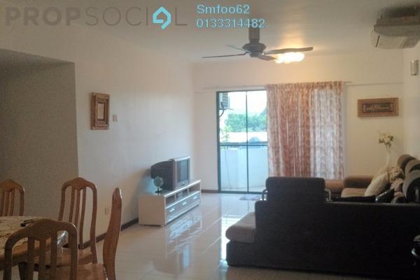 For Rent Condominium at Idaman Putera, Setapak Freehold Semi Furnished 3R/2B 1.7k