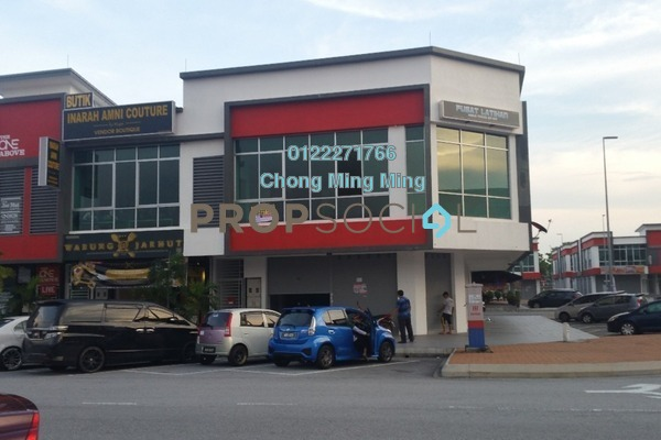 For Rent Shop at S2 Centrio, Seremban 2 Freehold Unfurnished 0R/0B 8.5k