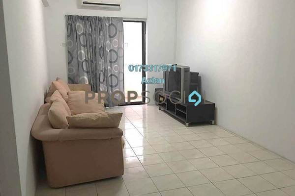 For Rent Apartment at Bougainvilla, Segambut Freehold Semi Furnished 3R/2B 1.4k