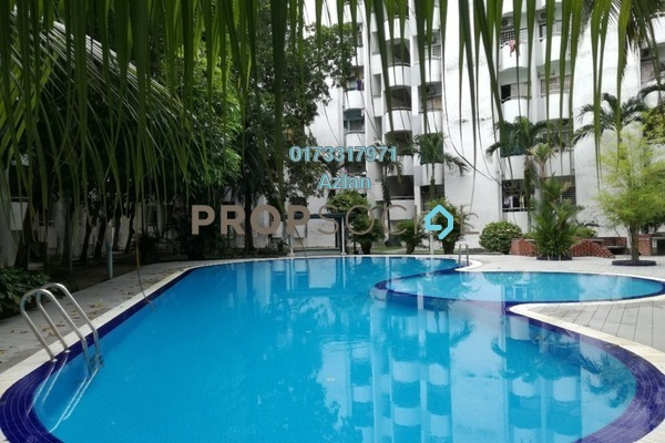 For Rent Condominium at Fawina Court, Ampang Freehold Unfurnished 2R/2B 1.2k