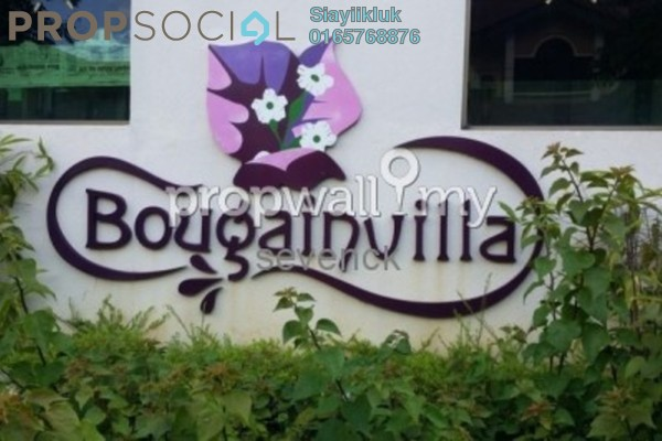 For Rent Condominium at Bougainvilla, Segambut Freehold Unfurnished 3R/2B 1.1k