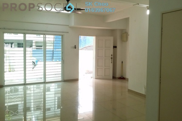 For Rent Superlink at Taman Bukit Intan, Sri Petaling Freehold Semi Furnished 4R/4B 2.2k