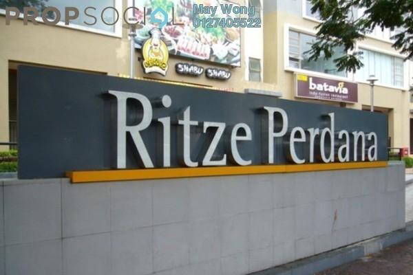 For Sale Condominium at Ritze Perdana 2, Damansara Perdana Freehold Semi Furnished 0R/1B 360k