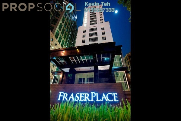 For Sale Condominium at Fraser Place, KLCC Freehold Fully Furnished 1R/1B 930k