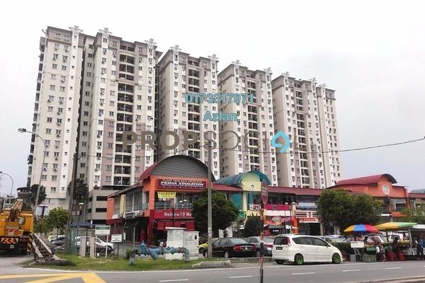 For Rent Condominium at Sri Ampang, Ampang Freehold Fully Furnished 3R/2B 1.8k