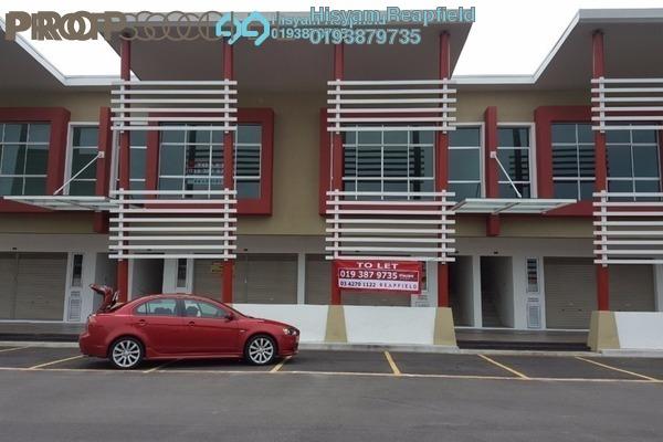 For Rent Shop at Bertam Walk, Penang Freehold Semi Furnished 0R/2B 3.5k