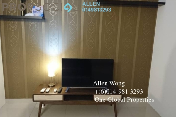For Rent Condominium at Taman Johor Jaya, Johor Bahru Freehold Fully Furnished 0R/1B 1.6k