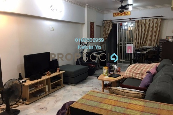 For Sale Apartment at Taman Kepong Indah, Kepong Freehold Semi Furnished 3R/2B 290k