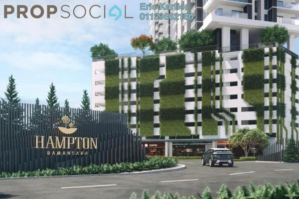 For Sale Serviced Residence at Hampton Damansara, Kuala Lumpur Freehold Semi Furnished 3R/2B 720k