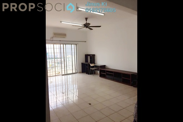 For Rent Condominium at Prima Setapak I, Setapak Freehold Semi Furnished 3R/2B 1.6k