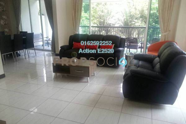 For Rent Duplex at Armanee Terrace I, Damansara Perdana Freehold Fully Furnished 4R/4B 3.5k