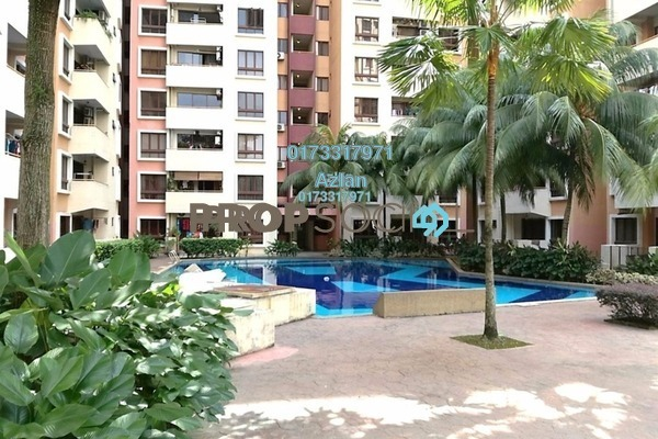 For Sale Condominium at Palm Spring, Kota Damansara Freehold Semi Furnished 3R/2B 450k