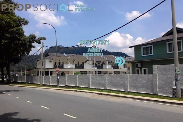 For Sale Terrace at Taman Hulu Langat Jaya, Batu 9 Cheras Freehold Semi Furnished 4R/3B 550k