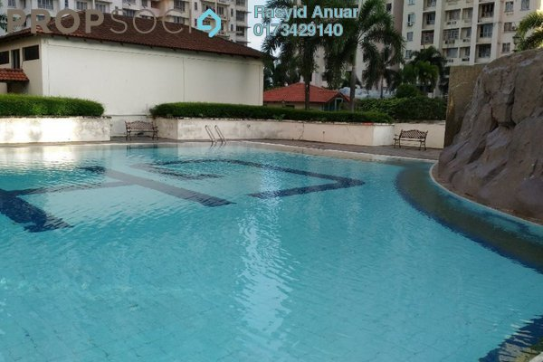 For Rent Condominium at Gurney Heights, Keramat Freehold Unfurnished 3R/2B 1.7k