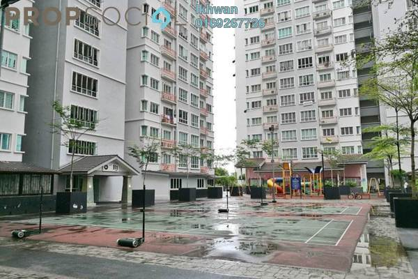 For Sale Condominium at Banjaria Court, Batu Caves Freehold Semi Furnished 3R/2B 380k
