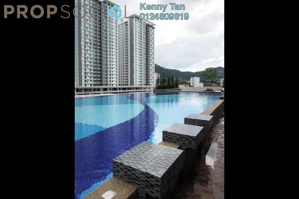 For Rent Condominium at Sierra Residences, Sungai Ara Freehold Semi Furnished 3R/2B 1k