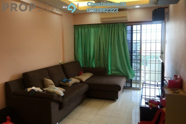 For Sale Apartment at Sri Gotong Apartment, Selayang Freehold Semi Furnished 3R/2B 288k