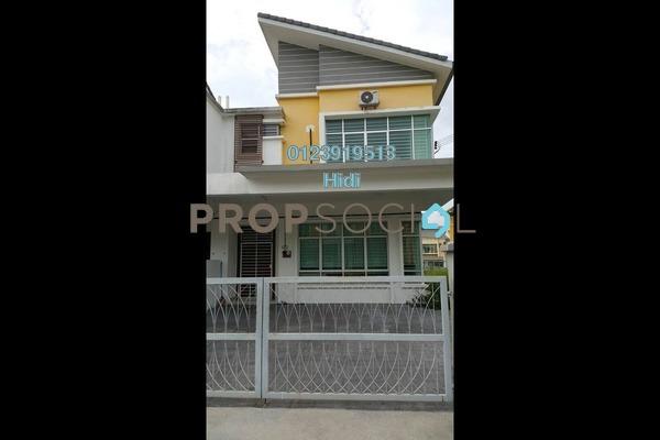 For Rent Semi-Detached at Taman Pelangi Semenyih 2, Semenyih Freehold Semi Furnished 4R/3B 2.3k
