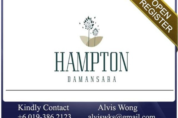 For Sale Condominium at Hampton Damansara, Kuala Lumpur Freehold Semi Furnished 2R/2B 822k