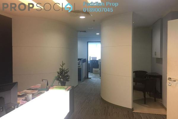 For Rent Office at Solaris Dutamas, Dutamas Freehold Fully Furnished 0R/0B 8k