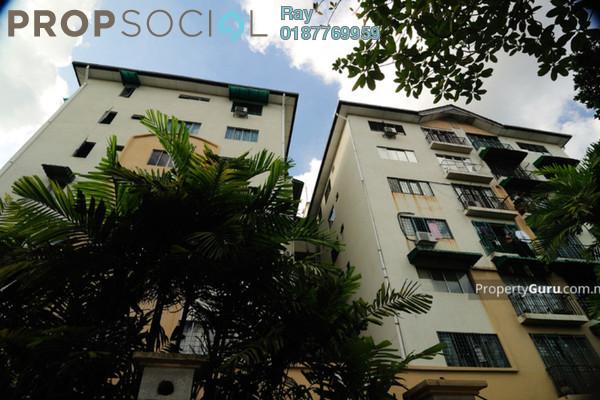 For Rent Apartment at Vista Wira, Wangsa Maju Freehold Semi Furnished 3R/2B 1.6k