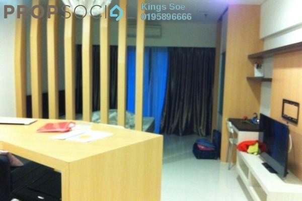 For Rent Condominium at Summer Suites, KLCC Freehold Fully Furnished 0R/1B 2.4k