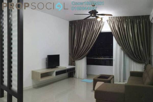 For Rent Condominium at Scenaria, Segambut Freehold Fully Furnished 3R/2B 2.3k