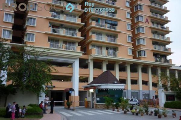 For Rent Condominium at Platinum Hill PV6, Setapak Freehold Semi Furnished 4R/2B 1.55k