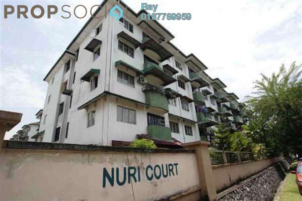 For Rent Apartment at Nuri Court, Pandan Indah Freehold Fully Furnished 3R/2B 1k